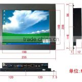 Professional 10.4 Inch Industrial Touch Screen Panel Pc