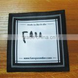 Reasonable Price woven main labels for garments