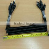26Core 0.16 Tin Copper al cable with 4.0mm Colided Solder & molding DC jack power cable