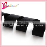 Wholesale hair accessories material boutique grosgrain black ribbon