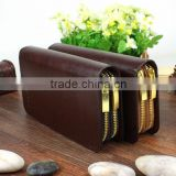 Men's Leather Business Clutch Wrist Bags Handbag Briefcases Wallet