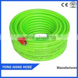 YONG HANG High Pressure Flexible Transparent apple green8.5mm 5Layers Spray Hose For Agriculture