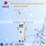 MF-9095 10 in 1 multifunction ultrasonic face massager instrument & face cleansing cosmetics devices with ozone hair steamer