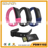 2016 Top Sale Bodybuilding and Fitness Pedometer Tracker & Sleep analysis Smart Bracelet