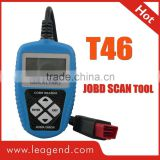 Hot selling OBD2/EOBD JOBD ecu car programming tool/auto Scanner T46-View freeze frame data,Updateable online