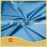 Microfiber thin glitter knitting satin soft textile material fabric
