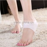 Silicone foot care Moisturizing Gel Heel Socks Cracked Protect the foot heel skin against peeling and cracking