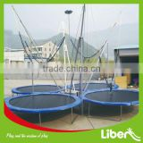 2014 Newest cheap jumping sport trampoline, bungee trampoline, trampoline park With Safety Net LE.BC.002