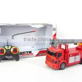 2015 new style 4 way rc fire truck series with light AH025273
