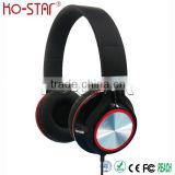 Latest Best Texture Stylish Patented DJ Stereo Headphones with Alloy Support Arm and Comfortable Leather Sleeve and Ear Cushions