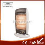 1200W Electric Heater By 3 Halogen Tubes Heating