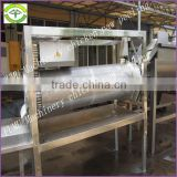 whole stainless steel line of chicken feet cleaning machine
