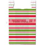 colorful stripe t shirt bags