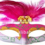 2011 feather mask cute design for halloween and other party of good price