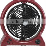 hotsale competitive price rechargeable fan with light