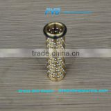 Brass High Precision Ball Cage with Wear Ring,Self Lubricating Metal Ball Bearing Retainers