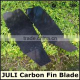 Light weight glossy carbon fiber fin blade used in diving                                                                         Quality Choice