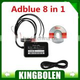 2015 Hot New 8 in 1 Adblue emulator for trucks with NOx sensor emulation with Russian English language