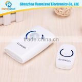 Has the alarm function, hotel, office building of the family wireless motion sensor doorbell