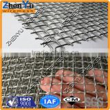 Factory manufacture galvanized steel crimped wire mesh/crimped plain woven mesh for mine sieving or used on crushers
