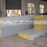 Mineral wool sandwich wall panel