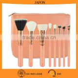 New arrival free samples 8pcs synthetic hair cosmetic makeup brush for girls with instock items