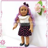Colorful Wig Doll 18 inch Doll american girl in brazil sales