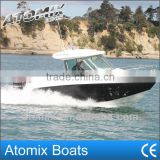 6 meter Fiberglass Fishing Boat with outboard engine (600 Hard Top Fisherman)