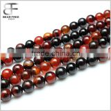 Natural Dream Agate Gemstone Round Faceted Loose Beads Strand