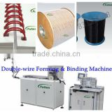 Factory double wire o forming & binding machine