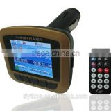 usb car mp4 player with fm transimitter ,1.8' car mp4 fm modulator