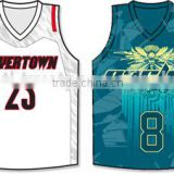 youth sublimated basketball uniforms Custom Basketball Uniforms 100% Polyester / Sublimated Basketball Uniforms