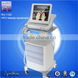 Multi-polar RF Ultrasound Hifu Machine High Face Lifting Intensity Focused Ultrasound Ultrasound Hifu Cynthia RU1123B
