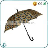 25 inch full flower heat transfer printing automatic straight umbrella