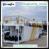 oilfield drill rig solid control system--Drilling fluid Mud tank