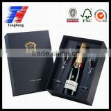 champagne glass gift box