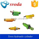 long stroke hydraulic cylinder manufacturer for dump truck, terex 3305, 3306, 3307, tr45, tr50, tr60, tr100 truck