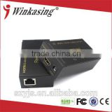 2015 new products 60m hdmi extender cat5e x1