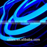 Color changing neon flex 24v rgb tube rope light