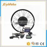 "48v 16""-28""rear motor 1500w gearless electric bicycle conversion kits ebike kit"