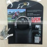 high quality safety lock alarm lock/ alarm padlock/ alarm gate lock