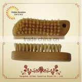 Best quality bamboo nail brush ,nail brush manufactory