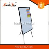 zhejiang redsun duplex decorative whiteboard flip chart board paper with easel stand