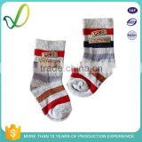 Seamless Pattern Colorful Striped Cute Baby Girl Hosiery Manufacturers Seamless Socks For Children