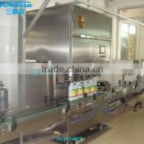 Automatic linear type olive oil filling packing machine for olive cooking sunflower oil in bottle barrel or jar can