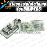 Wholesale Price Canbus Led License Plate Lamp For Bmw E66 (Not work for Japan Car) Auto Car Accessory Back Light