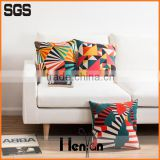 wholesale custom print decorative alibaba supplier hotel linen throw pillow cover