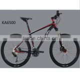 HOMHIN KA6500 High end China bicycle factory Quad bike 27Speed Mountain Bicycle Dirt bike Racing alloy 432MM frame 26""