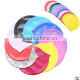 Silicone Swim Cap for Men and Women - Keep Hair Dry Swim Cap- Recreational, Competitive and Fitness Swimmers