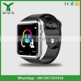 Hot wholesale android smart phone watch camera single sim card
